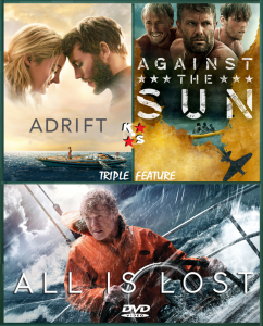 Adrift, All Is Lost, Against The Sun Combo NTSC Latino