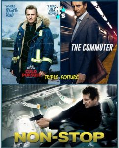 Cold Pursuit, The Commuter, Non Stop Combo LATINO