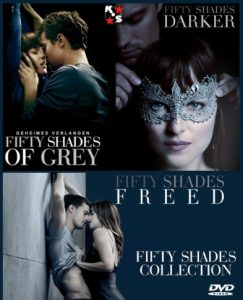 Fifty Shades Of Grey 1-3 Combo NTSC Latino