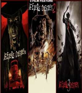 Jeepers Creepers 1-3 combo LATINO