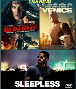Gun Shy, Sleepless, Once Upon A time In Venice Combo LATINO