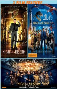 Night At The Museum 1-3 combo