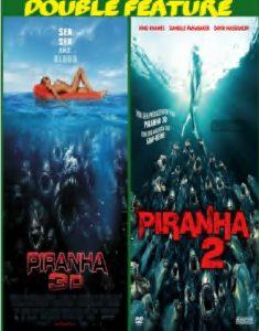 Piranha 3d 1-2 combo