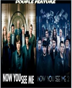 Now You See Me 1 & 2 combo