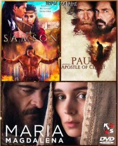 Samson, Mary Magdalene, Paul Apostle combo