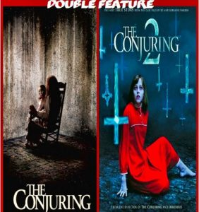 The Conjuring 1 & 2 combo