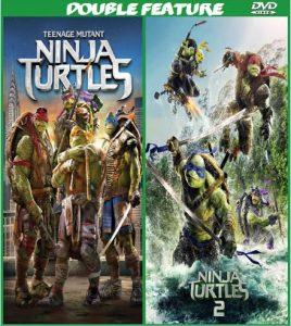 Teenage Mutant Ninja Turtles 1 & 2 combo