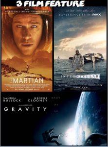 The Martian, Interstellar, Gravity combo