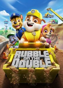 PAW Patrol: Rubble On The Double 2021 DVDR R1 NTSC Latino