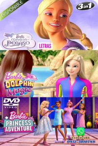 Barbie Magia de Pegaso-Delfines Mágicos-Princess Adventure