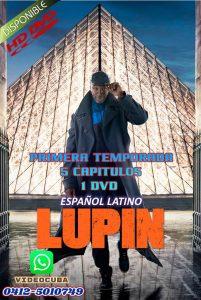 Lupin Temporada 1 LATINO 5 CAPITULOS 1DVD