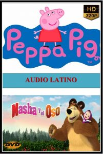 Peppa Pig & Masha y El Oso 2020 DVDR BD NTSC LATINO