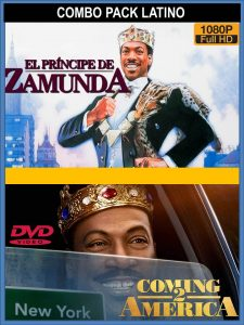 COMBO Coming To America DVDR BD NTSC Latino