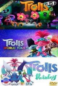 Trolls1-Trolls2-Trolls Holiday LATINO 3X1