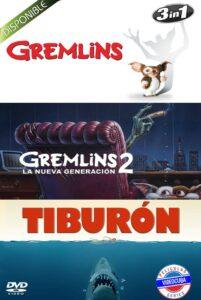 Gremlins 1-Gremlins 2-Tiburon 1975 Latino