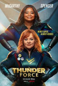 Thunder Force 2021 DVDR BD NTSC Latino 5.1
