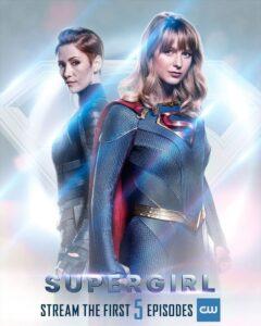 Supergirl (TV Series) S05 DVD HD Dual Latino + Sub 4xDVD5