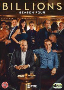 Billions (TV Series) S04 DVD R1 NTSC Latino 4xDVD5