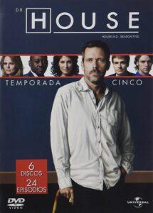 House, M.D. (TV Series) S05 DVD R1 NTSC Latino 6xDVD5