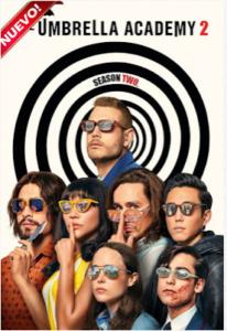 The Umbrella Academy (TV Series) S02 DVD HD Dual Latino 5.1 + Sub F 2xDVD5