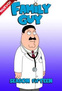 Family Guy (TV Series) S15 DVD R1 NTSC Latino 3xDVD5