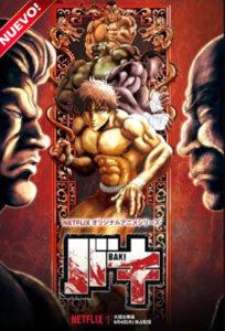 Baki (TV Series) S03 DVD HD Dual Latino + Sub 2xDVD5