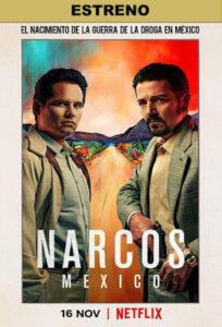 Narcos Mexico (TV Series) S01 DVD R1 NTSC Latino 3xDVD5