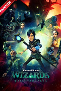 Wizards Tales of Arcadia (TV Series) S01 DVD HD Dual Latino + Sub 1xDVD5