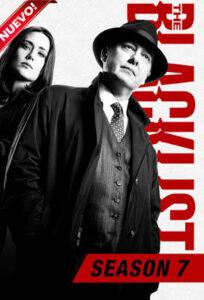The Blacklist (TV Series) S07 DVD HD Dual Latino + Sub 4xDVD5