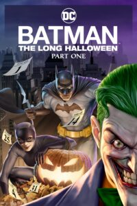 Batman The Long Halloween, Part One 2021 DVD R1 NTSC Latino
