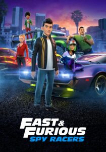 Fast & Furious Spy Racers S04 DVD LATINO 5.1 1XDVD