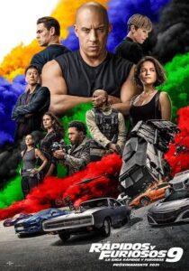 Fast & Furious 9 2021 DVD R1 NTSC Latino (2 en 1)