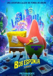 The SpongeBob Movie: Sponge on the Run 2020 DVD R1 NTSC Latino