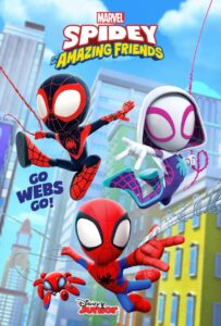 Spidey and His Amazing Friends Season 1 DVD Latino 1xDVD