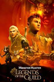 Monster Hunter: Legends of The Guild 2021 DVD Dual Latino 5.1