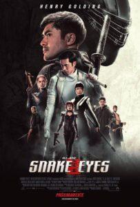Snake Eyes G.I. Joe Origins 2021 DVD Custom HD NTSC Latino